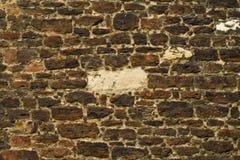 17世纪墙壁细节 免版税库存图片