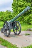18世纪大炮 免版税库存图片
