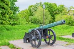 18世纪大炮 库存照片