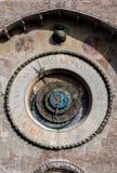 15世纪天文学时钟 图库摄影
