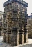 13世纪太阳寺庙,科纳克太阳神庙 库存图片