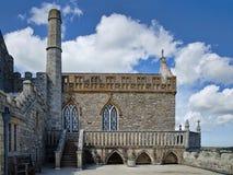 14世纪小修道院教会|圣迈克尔的登上 免版税库存照片