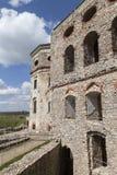 17世纪巨型城堡, Krzyztopor,波兰的废墟 库存图片