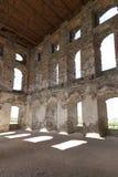 17世纪巨型城堡, Krzyztopor,波兰的废墟 免版税图库摄影