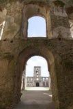 17世纪巨型城堡, Krzyztopor,波兰的废墟 免版税库存照片