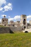 17世纪巨型城堡, Krzyztopor,波兰的废墟 库存照片