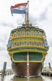 17世纪帆船复制品  免版税库存图片
