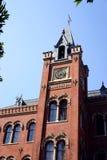 19世纪建筑学- Steampunk塔 免版税库存照片