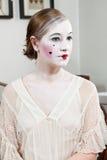 18世纪戏剧性化妆师 库存图片