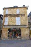 16世纪房子在地方du佩鲁在Sarlat,法国 免版税库存照片