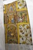15世纪挂毯 库存照片