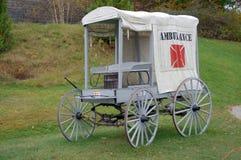 19世纪救护车 库存照片