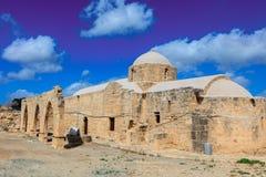 12世纪教会在塞浦路斯 库存图片