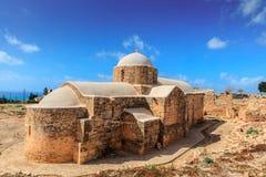 12世纪教会在塞浦路斯 免版税库存图片