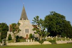 14世纪教会 图库摄影