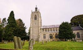 14世纪教会 免版税图库摄影