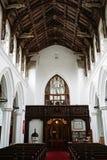 14世纪教会 免版税库存图片