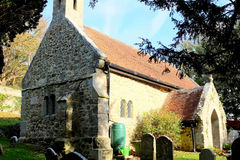 11世纪教会 免版税库存照片
