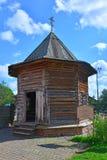 19世纪教堂在木建筑学博物馆在苏兹达尔,俄罗斯 图库摄影