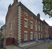 18世纪末城内住宅 库存照片