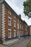 18世纪末城内住宅 免版税库存照片