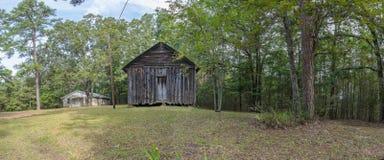 19世纪末教会在北部密西西比 图库摄影