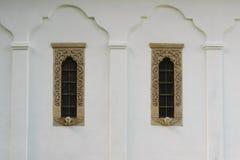 18世纪样式窗架和装饰 库存照片