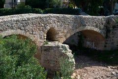 19世纪桥梁 库存图片