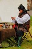 17世纪海盗 库存图片