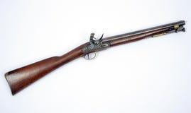 19世纪燧发枪Paget骑兵马枪 库存照片