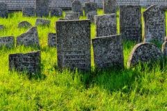 18世纪犹太公墓 免版税库存图片