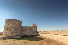 17世纪的一个古老堡垒 免版税库存照片