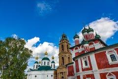 18世纪的上帝的母亲的斯摩棱斯克象的教会在Uglich,俄罗斯 库存照片