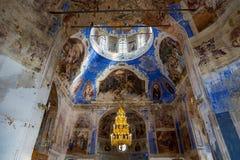 19世纪的上帝的母亲的Theodorovskaya象的教会在Uglich,俄罗斯 库存照片