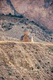 13世纪的保佑的圣母玛丽亚的教会在t的 库存图片
