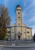 19世纪的做法的教会 库存图片
