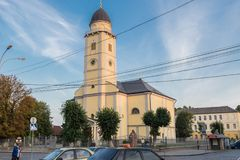 19世纪的做法的教会 免版税库存照片