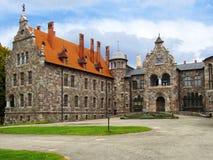 19世纪的华丽的城堡 免版税库存照片