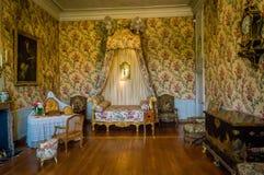 18世纪的卧室 免版税库存图片