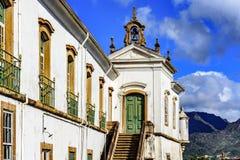 18世纪的古老的天主教堂 库存图片