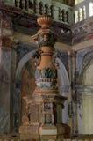 从19世纪的喷泉的细节- Baile 免版税库存图片