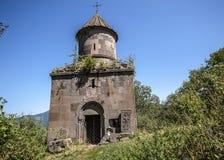 12世纪的圣Gevorg教会在Goshavank 免版税图库摄影