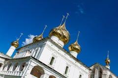 17世纪的复活修道院在Uglich,俄罗斯 免版税库存图片