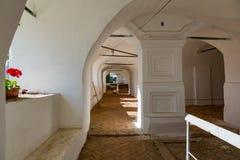 17世纪的复活修道院在Uglich,俄罗斯 免版税库存照片