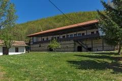 19世纪的大厦在Temski修道院圣乔治,皮罗特,共和国里塞尔维亚 免版税库存图片