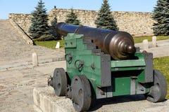 17世纪的大炮 免版税库存图片