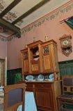 19世纪的客厅 免版税库存照片