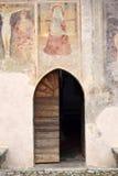 15世纪的教会在国家  免版税库存照片