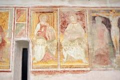 15世纪的教会在国家  免版税库存图片