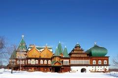 中世纪宫殿 库存照片